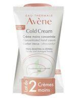 Avène Eau Thermale Cold Cream Duo Crème Mains 2x50ml à Clermont-Ferrand