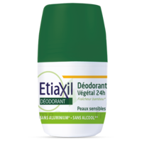 Etiaxil Végétal Déodorant 24h Roll-on/50ml à Clermont-Ferrand
