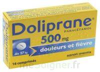Doliprane 500 Mg Comprimés 2plq/8 (16) à Clermont-Ferrand