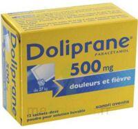 Doliprane 500 Mg Poudre Pour Solution Buvable En Sachet-dose B/12 à Clermont-Ferrand