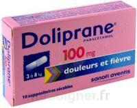 Doliprane 100 Mg Suppositoires Sécables 2plq/5 (10) à Clermont-Ferrand