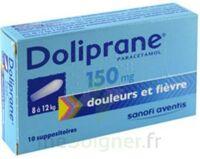 Doliprane 150 Mg Suppositoires 2plq/5 (10) à Clermont-Ferrand