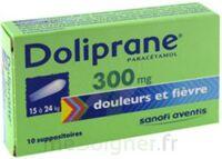 Doliprane 300 Mg Suppositoires 2plq/5 (10) à Clermont-Ferrand