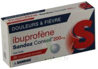 Ibuprofene Sandoz Conseil 200 Mg, Comprimé Enrobé à Clermont-Ferrand