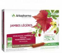 Arkofluide Bio Ultraextract Solution Buvable Jambes Légères 20 Ampoules/10ml à Clermont-Ferrand