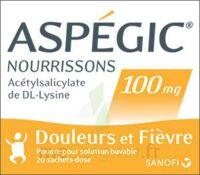 Aspegic Nourrissons 100 Mg, Poudre Pour Solution Buvable En Sachet-dose à Clermont-Ferrand