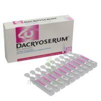 Dacryoserum Solution Pour Lavage Ophtalmique En Récipient Unidose 20unidoses/5ml à Clermont-Ferrand