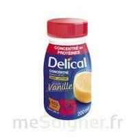Delical Boisson Hp Hc Concentree Nutriment Vanille 4bouteilles/200ml à Clermont-Ferrand