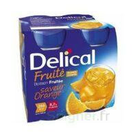 Delical Boisson Fruitee Nutriment Orange 4bouteilles/200ml à Clermont-Ferrand