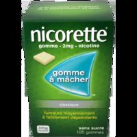 Nicorette 2 Mg Gom à Mâcher Médic Sans Sucre Menthe Fraîche Plq/105gom à Clermont-Ferrand