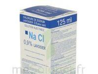 Sodium 0,9% Lav Inj Fv125ml 1 à Clermont-Ferrand