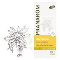 Pranarom Huile Végétale Bio Macadamia 50ml à Clermont-Ferrand