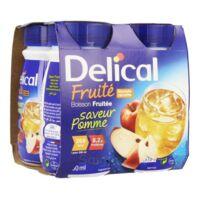 Delical Boisson Fruitee Nutriment Pomme 4bouteilles/200ml à Clermont-Ferrand