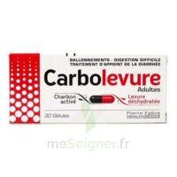 Carbolevure Gélules Adulte Plq/30 à Clermont-Ferrand