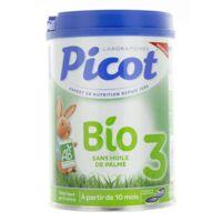 Picot Bio 3 Lait En Poudre 800g à Clermont-Ferrand