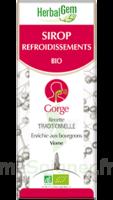 Herbalgem Sirop Bio Refroidissement 150ml à Clermont-Ferrand
