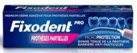 Fixodent Pro Crème Adhésive Pour Prothèse Partielle T/40g à Clermont-Ferrand