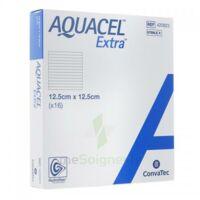 Aquacel Extra Pansement Hydrofiber Stérile 12,5x12,5cm B/16 à Clermont-Ferrand