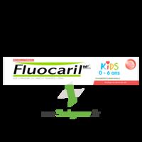 Fluocaril Kids Dentifrice Fraise 0-6 Ans T/50ml à Clermont-Ferrand
